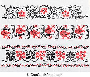 ウクライナ, タオル, 刺繍