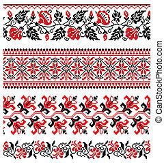 ウクライナ, 刺繍, 装飾