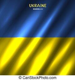 ウクライナ, 国旗, 背景