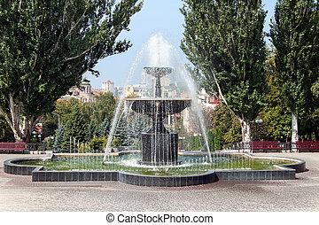ウクライナ, kharkiv, 噴水