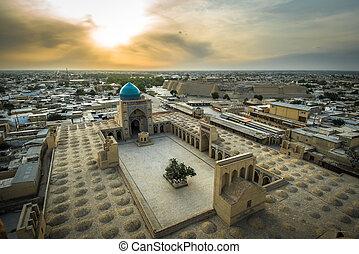 ウズベキスタン, パノラマ, bukhara