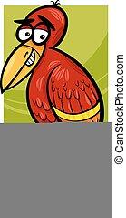 エキゾチックな鳥, イラスト, 漫画
