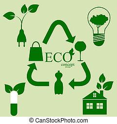 エコロジー, セット