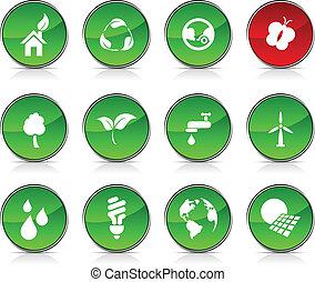 エコロジー, icons.