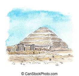 エジプトのピラミッド, djoser