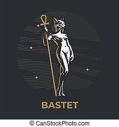 エジプトの女神, bastet.