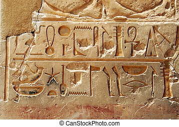 エジプトの hieroglyphics