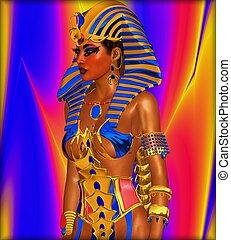 エジプト人, ∥あるいは∥, 女, ファラオ, cleopatra