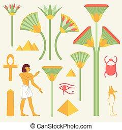 エジプト人, シンボル, サイン