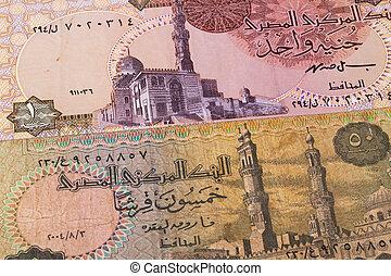 エジプト人, テーブル, 別, 紙幣
