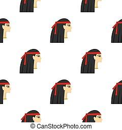 エジプト人, パターン, seamless, 王女