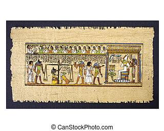 エジプト人, パピルス