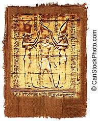 エジプト人, パピルス, 歴史