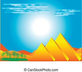 エジプト人, ピラミッド