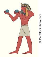 エジプト人, 古代, pharaoh.