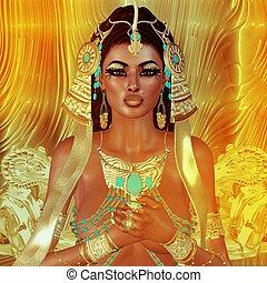 エジプト人, 女, ファンタジー
