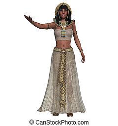 エジプト人, 女, 服装