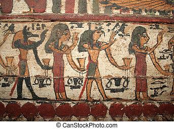 エジプト人, 絵, 古代