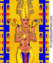 エジプト人, 芸術, ファンタジー