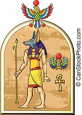 エジプト人, anubis