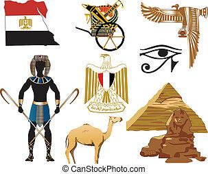 エジプト, アイコン