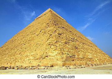 エジプト, ピラミッド, ギザ