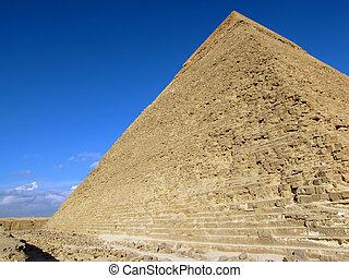 エジプト, ピラミッド, (chephren), khafre
