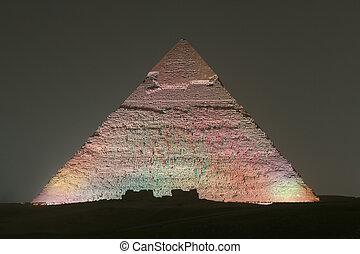 エジプト, ピラミッド, khafre, カイロ