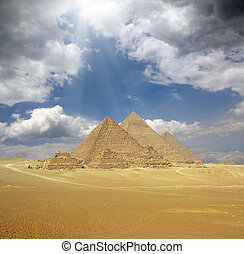 エジプト, 偉人, ピラミッド