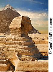 エジプト, 古代, スフィンクス