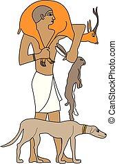 エジプト, 古代, ハンター