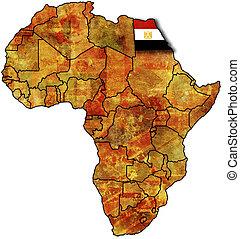 エジプト, 地図, 古い