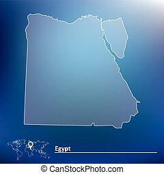 エジプト, 地図