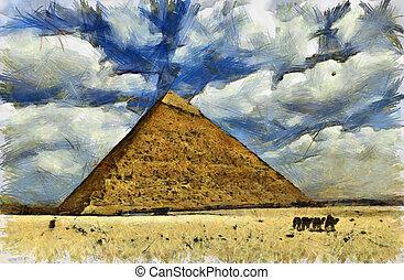 エジプト, 大きい ピラミッド