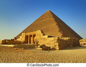 エジプト, 大きい ピラミッド, mastaba
