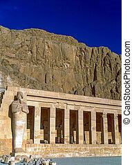 エジプト, 女王, 寺院, hatshepsut