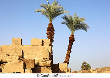 エジプト, 寺院, karnak
