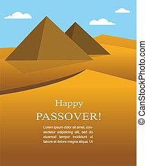 エジプト, 幸せ, から, ユダヤ人, passover-