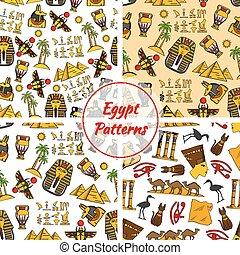 エジプト, 文化, 古代, パターン