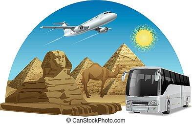 エジプト, 旅行, 旅行