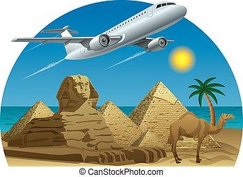 エジプト, 旅行