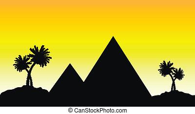 エジプト, 日没