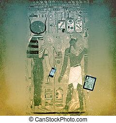 エジプト, 無線, 古代