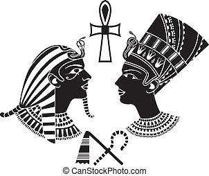 エジプト, 王, 女王, 古代