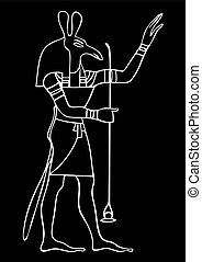 エジプト, 神, セット, -, 古代