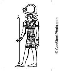 エジプト, 神, horus, 古代