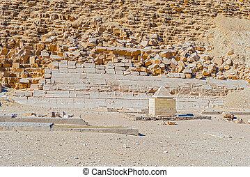 エジプト, 笠石, ピラミッド, dashur