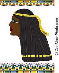 エジプト, 肖像画, 女, 古代