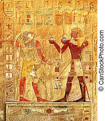 エジプト, 色, イメージ, 古代