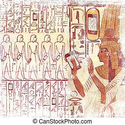 エジプト, 電話, 古代, 痛みなさい